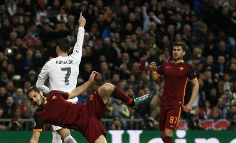 ريال مدريد يجدد فوزه على روما الايطالي