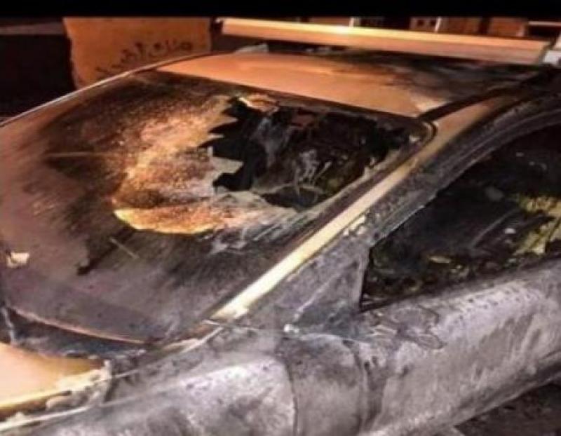 مجهولون يحرقون سيارة في مادبا ..والأمن يحقق