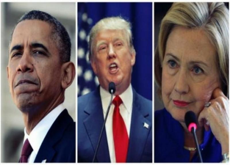 ترامب يفجّر مفاجأة حول علاقة أوباما وكلينتون بـ