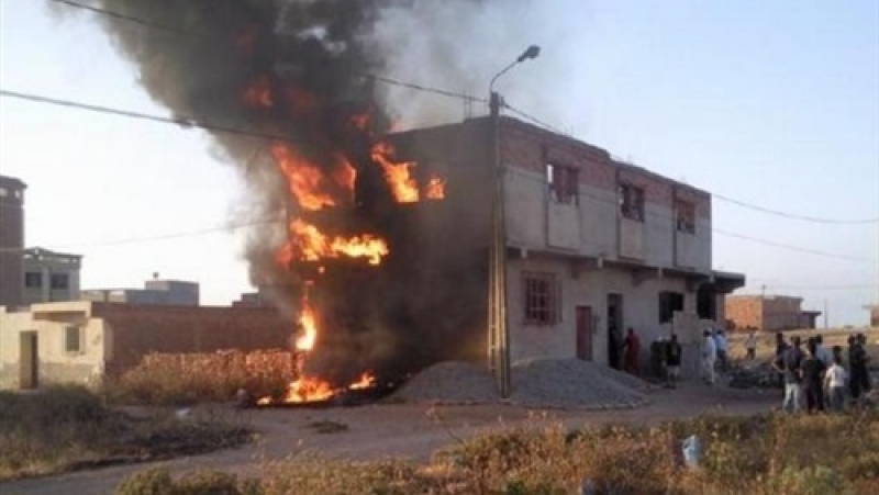 الزرقاء.. اصابة 3 اشخاص بحريق منزل