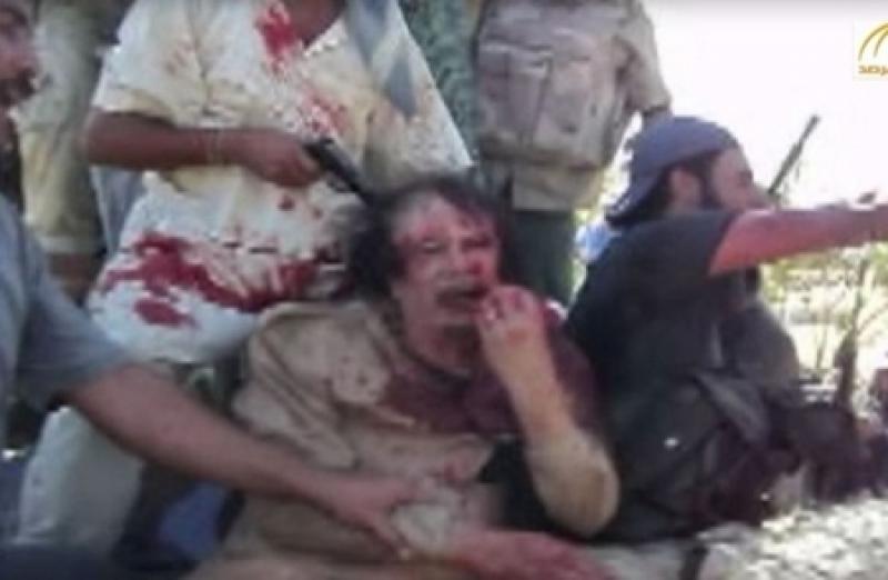 .فيديو لم ينشر للرئيس الليبي الأسبق