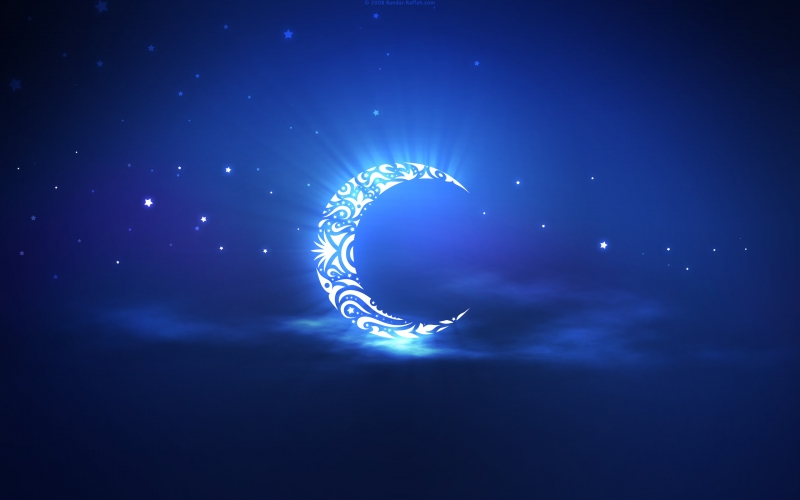 موقع فلكي : رمضان يوم الاثنين 6 حزيران