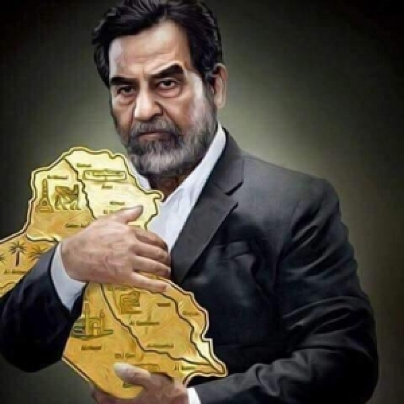 """""""الاندبندنت"""" تنشر صورة لصدام حسين وتعلق عليها:""""الرئيس الذي حافظ على بلده"""""""