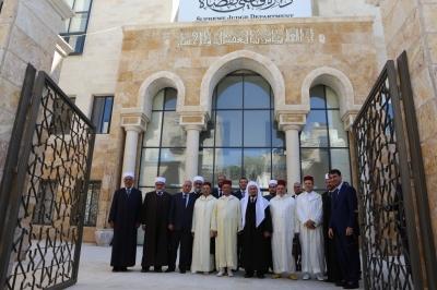 وفد قضائي شرعي مغربي في زيارة للمملكة
