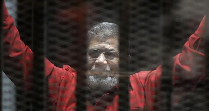 مطالبة بإعدام محمد مرسي في قضية «التخابر مع قطر»