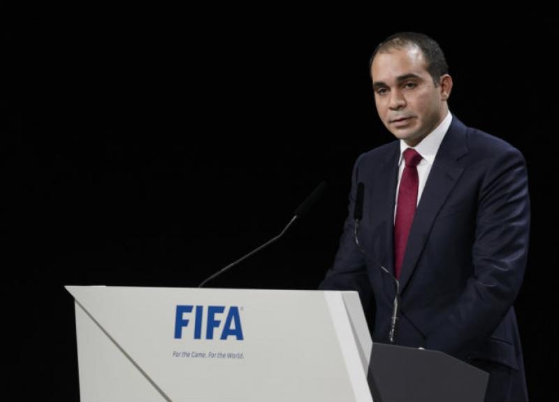 الامير علي ينتقد الاتحاد الدولي لكرة القدم