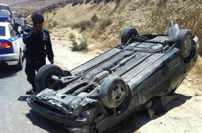 وفاة شابين واصابة اخرين بتدهور مركبة في المفرق