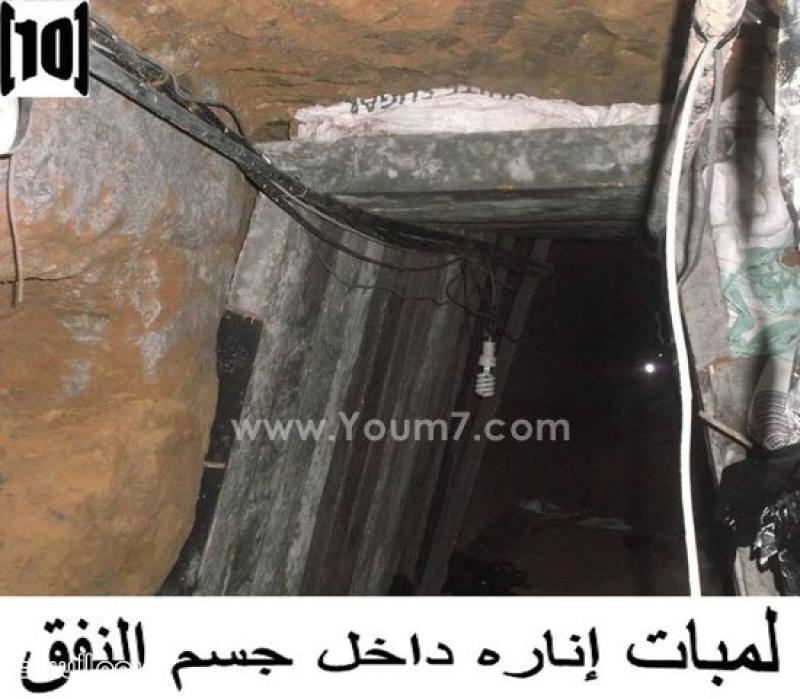 الجيش المصري: تدمير نفق خرسانى وضبط مخزنين للأسلحة والذخائر فى سيناء