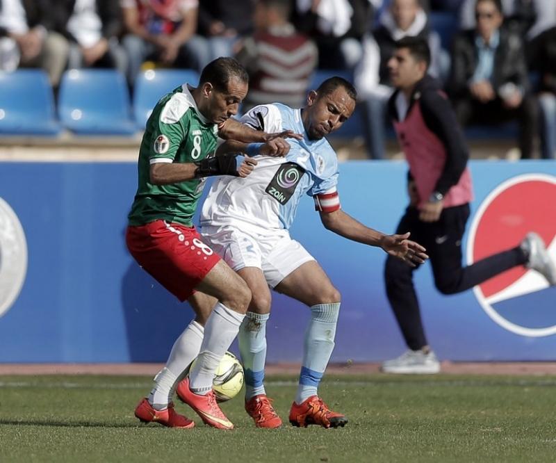 قمة ثابتة والقاع يشتعل في الدوري الأردني