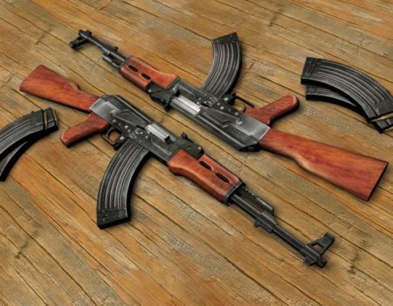 الاجهزة الامنية تضبط كمية أسلحة كبيرة في مادبا