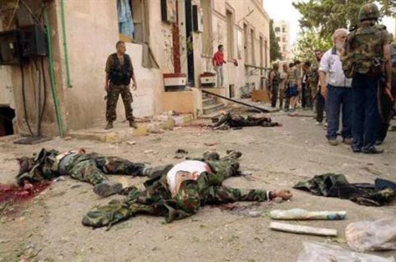 مقتل 19 ارهابيا اردنيا وشيشانيا في ديرالزور