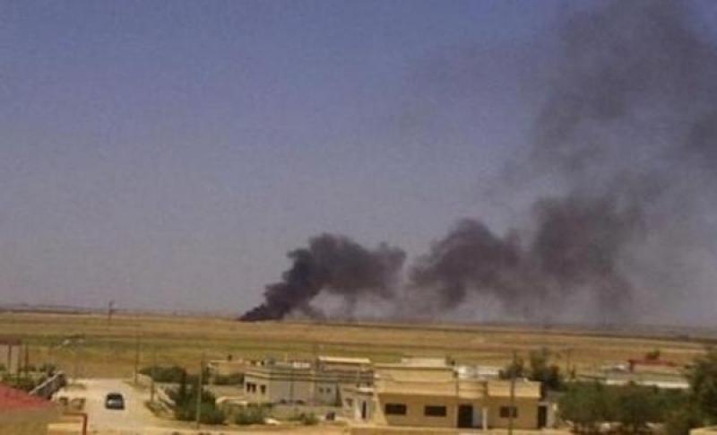 القذائف العشوائية السورية تقلق المناطق الحدودية