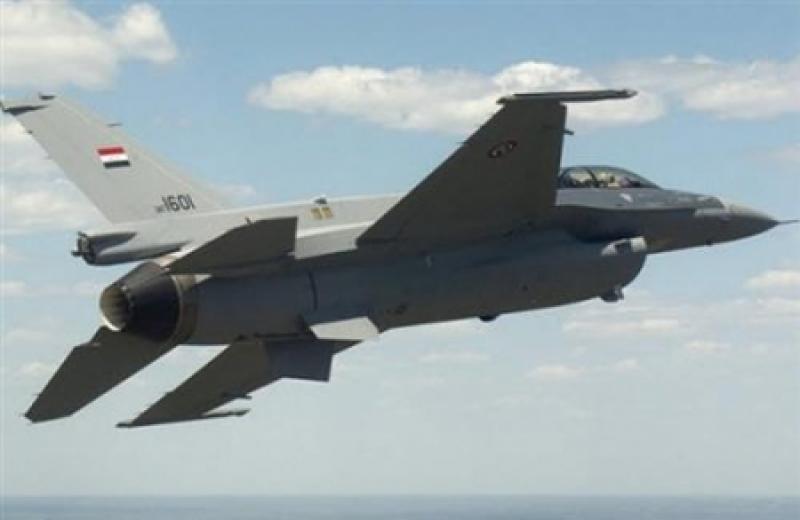 تحطم طائرة أف-16 مصرية ومقتل طاقمها