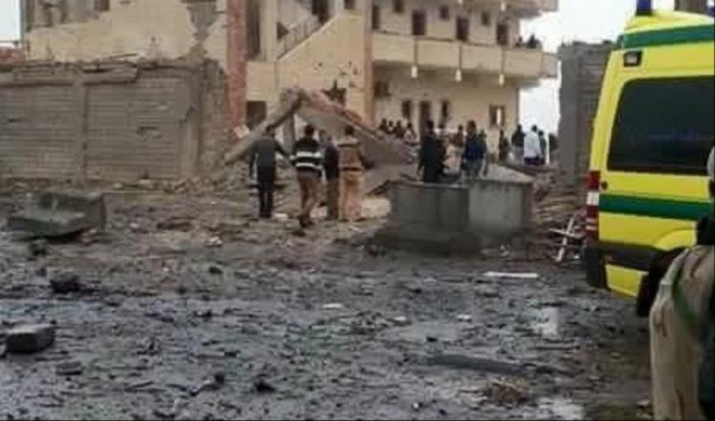 مقتل 13 من أفراد الأمن المصري بهجوم جنوب العريش