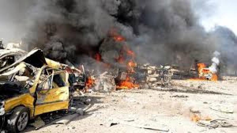 قتلى في انفجار سيارة مفخخة بسوق وسط دمشق