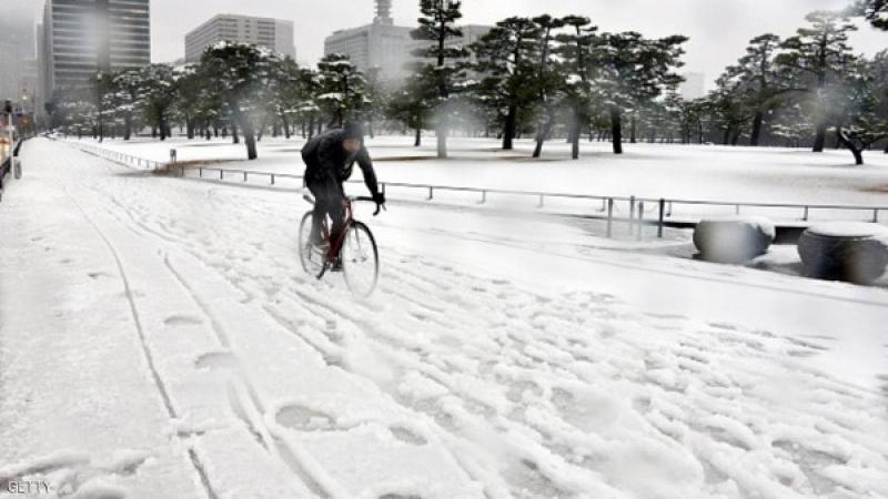 موجة ثلجية توقع قتلى في اليابان